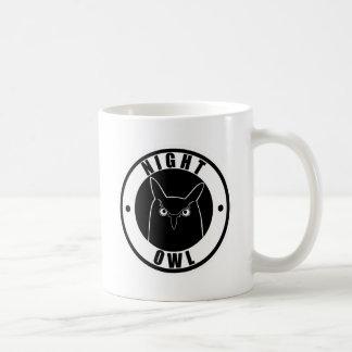 夜型の人 コーヒーマグカップ