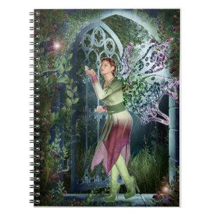 夜妖精の国のファンタジーのノートへのKRW ノートブック