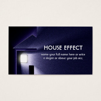 夜家ライト電気および冬 名刺