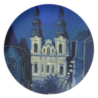 夜教会 プレート