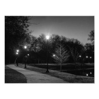 夜散歩 フォトプリント