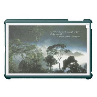 夜明けにアマゾン雨林 iPad MINIケース