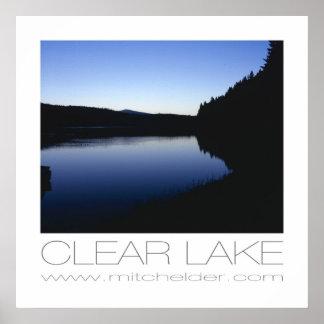 夜明けに澄んな湖 ポスター