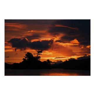 夜明けにCregannen湖の戯曲 ポスター