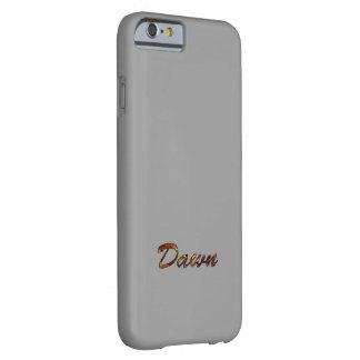 夜明けのための灰色色のiPhone6ケース Barely There iPhone 6 ケース