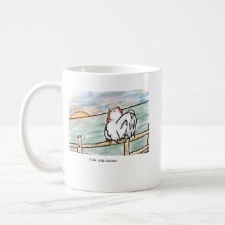 夜明けのひび コーヒーマグカップ