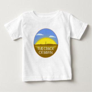 夜明けのひび ベビーTシャツ