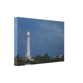 夜明けのキャンバスプリントのGibbsの丘の灯台 キャンバスプリント