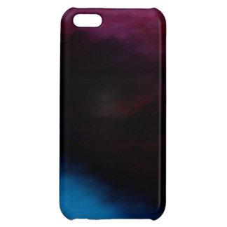 夜明けの光沢のある場合のiPhone 5Cの前の暗闇 iPhone5Cケース