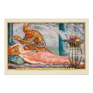夜明けの妖精のためのリース ポスター