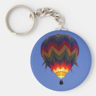 夜明けの気球飛行 キーホルダー