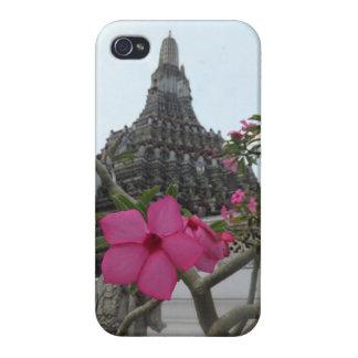 夜明けの花の寺院 iPhone 4/4Sケース