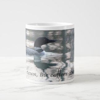 夜明けへの薄暗がり ジャンボコーヒーマグカップ