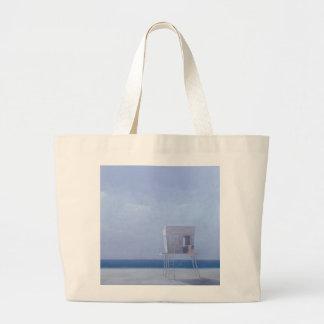 夜明けマイアミ ラージトートバッグ