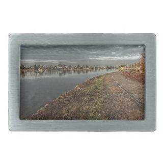 夜明け2のベルトの留め金の湖畔道 長方形ベルトバックル