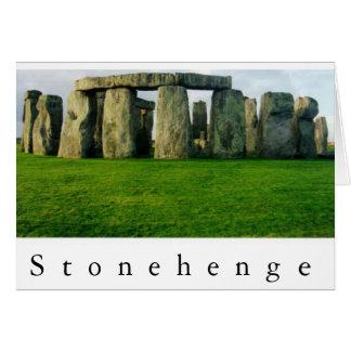 夜明けIIにStonehenge カード