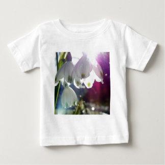 夜明けSnowdrops ベビーTシャツ