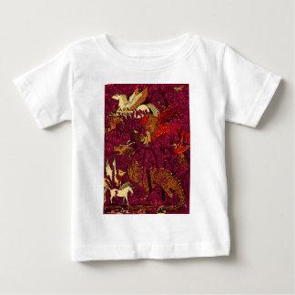 夜森林 ベビーTシャツ
