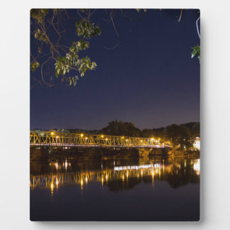 夜橋 フォトプラーク