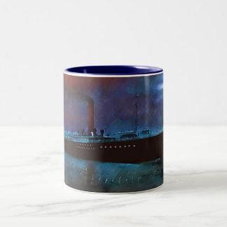 夜汽船 ツートーンマグカップ