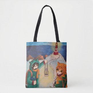 夜猫の灯台 トートバッグ