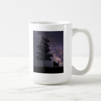 夜猫 コーヒーマグカップ