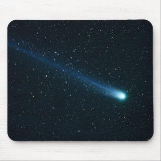 夜空の彗星 マウスパッド