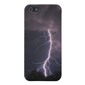 夜空の稲妻 iPhone 5 ケース