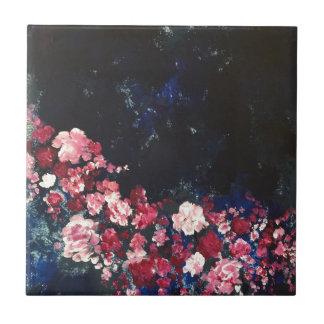 夜空の花 タイル