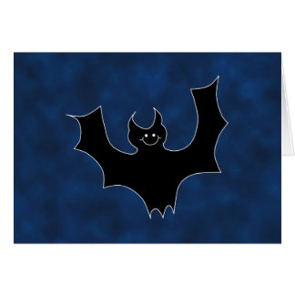 夜空の黒いこうもりの漫画、 カード