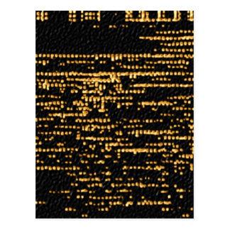 夜空スペクトル ポストカード