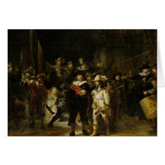 夜警員、Rembrandt Van Rijn カード