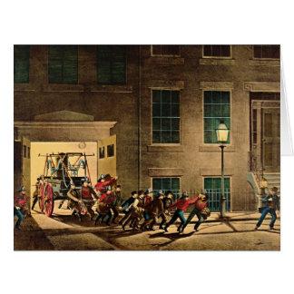 夜警報1854年 カード