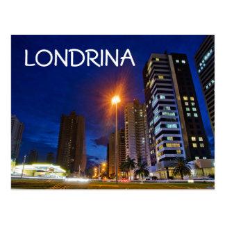 夜都市Londrina ポストカード
