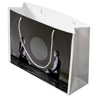 夜黙想- 3Dは描写します ラージペーパーバッグ