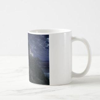 夜1827年の町Scharfenberg コーヒーマグカップ