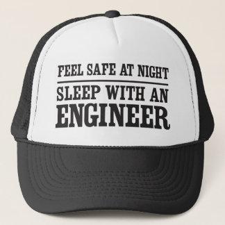 夜、エンジニアとの睡眠に金庫を感じて下さい キャップ