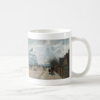 夜~カミーユ・ピサロのBoulevarde Montmartre コーヒーマグカップ
