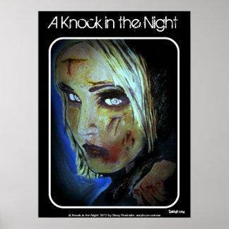 「夜」(ゾンビ)ポスターのノック ポスター