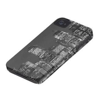 夜、ニューヨークシティのマンハッタンスカイライン Case-Mate iPhone 4 ケース