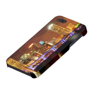 夜、フロリダのマイアミのスカイライン iPhone SE/5/5sケース
