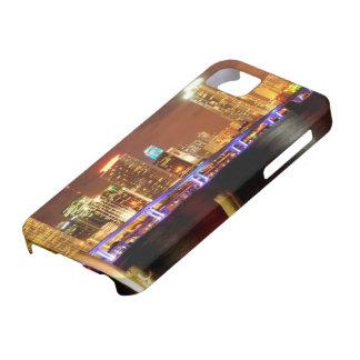 夜、フロリダのマイアミのスカイライン iPhone SE/5/5s ケース