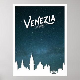 夜-ポスターまでにVenezia ポスター