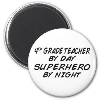 夜-第4等級までにスーパーヒーロー マグネット
