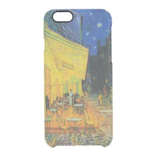 夜| 1888年のゴッホ|のカフェ台地 クリアiPhone 6/6Sケース