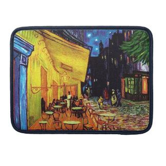 夜(1888年の) MacBookのプロ袖13のカフェ台地 MacBook Proスリーブ