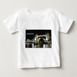 夜(St.K)のロンドン橋 ベビーTシャツ