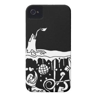 夜withmspdgttの木 Case-Mate iPhone 4 ケース