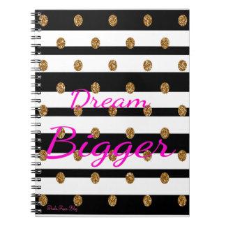 夢のより大きいノート ノートブック