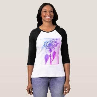 夢のキャッチャーのプリントの女性のTシャツ Tシャツ